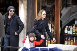 Brad Pitt e Angelina Jolie a Venezia