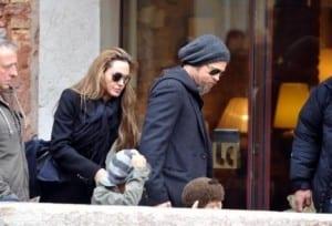 Angelina Jolie e Brad Pitt a Venezia