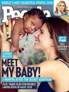 La cover di People con Sandra Bullock