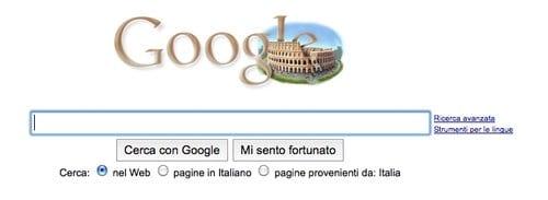 Logo di Google per la Settimana della Cultura