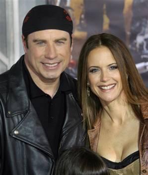 John Travolta e Kelly Preston
