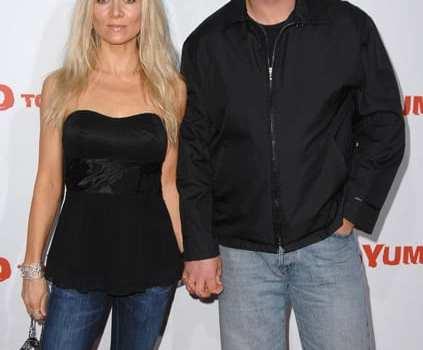 Russell Crowe e la moglie Danielle Spencer