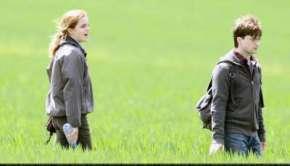 Emma Watson e Daniel Radcliffe