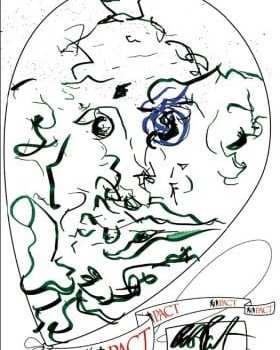 Il disegno di Robert Pattinson