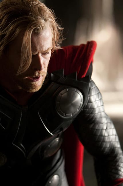 "Chris Hemsworth in ""Thor"""