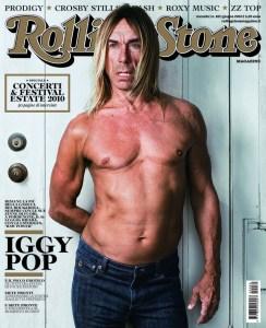 La cover di Rolling Stone con Iggy Pop