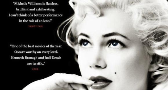 My Week with Marilyn - Il poster del film su Marilyn Monroe