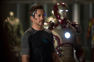 Robert Downey Jr. è Tony Stark in Iron Man 3