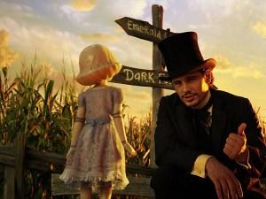 James Franco in Il grande e potente Oz