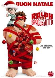 La locandina natalizia di Ralph Spaccatutto