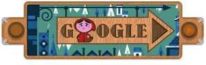 Logo di Google dedicato ai Fratelli Grimm