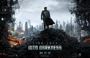 Il primo poster di Star Trek  Into Darkness