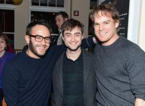 Il regista John Krokidas, Daniel Radcliffe e Michael C. Hall | © Andrew H. Walker / Getty Images