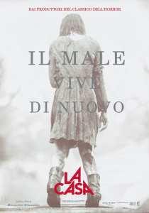 La prima locandina italiana del remake de La Casa