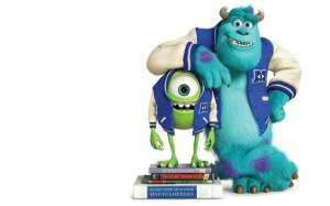 Mike e Sulley in Monsters University