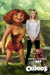 Emma Stone è Hip nel character poster de I Croods
