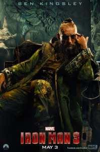 Ben Kingsley è Il Mandarino nel nuovo character poster di Iron Man 3