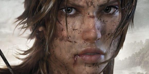 Lara Croft nella sua nuova versione videoludica