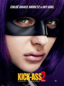 Chloe Moretz nel poster di Kick-Ass 2