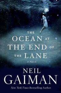 "La copertina di ""The ocean at the end of the lane"""