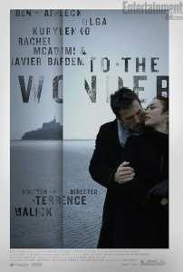 Il poster americano di To the Wonder