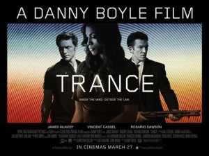 I tre protagonisti di Trance nel nuovo poster del film