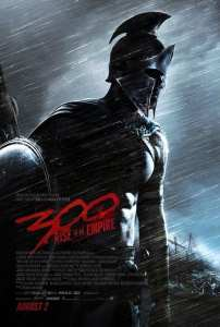"""Il primo poster per """"300: Rise of an empire"""""""