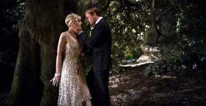 Carey Mulligan e Leonardo Di Caprio in una scena de Il grande Gatsby