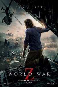Il poster inglese di World War Z
