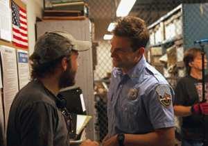 Bradley Cooper e Derek Cianfrance sul set di Come un tuono