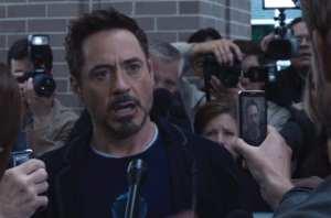 Robert Downey Jr. è ancora una volta Tony Stark in Iron Man 3