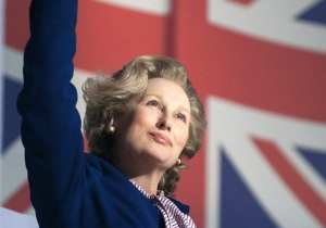 Meryl Streep nei panni di Margaret Thatcher in The Iron Lady