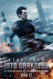 Benedict Cumberbatch nel nuovo poster di Into Darkness - Star Trek