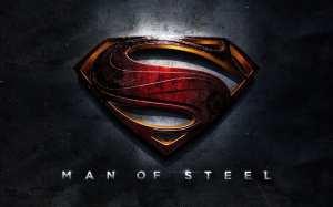 Il banner ufficiale de L'uomo d'acciaio