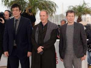 Benicio Del Toro, Arnaud Desplechin e Mathieu Amalric | © Samir Hussein/Getty Images