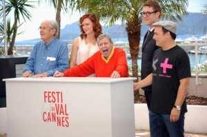 Michel Legrand, Kerry Bishe, Jerry Lewis, Daniel Noah e Kevin Pollak | © Stuart C. Wilson/Getty Images