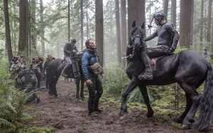 La prima immagine ufficiale di Dawn of the Planet of the Apes