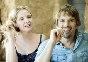 Julie Delpy e Ethan Hawke in un'immagine di Before Midnight
