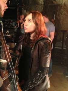 Ellen Page è Kitty Pride nella foto dal set di X-Men: Giorni di un futuro passato
