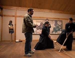 James Mangold sul set di Wolverine