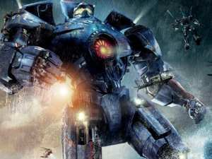 Un poster spettacolare di Pacific Rim di Guillermo del Toro