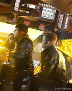 Zachary Quinto e Chris Pine in Into Darkness - Star Trek