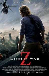 Brad Pitt nel nuovo poster di World War Z