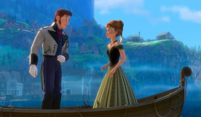 Frozen - Hans e Anna
