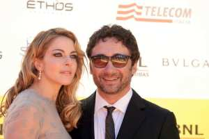 Claudia Gerini e Federico Zampaglione   © Elisabetta Villa / Getty Images