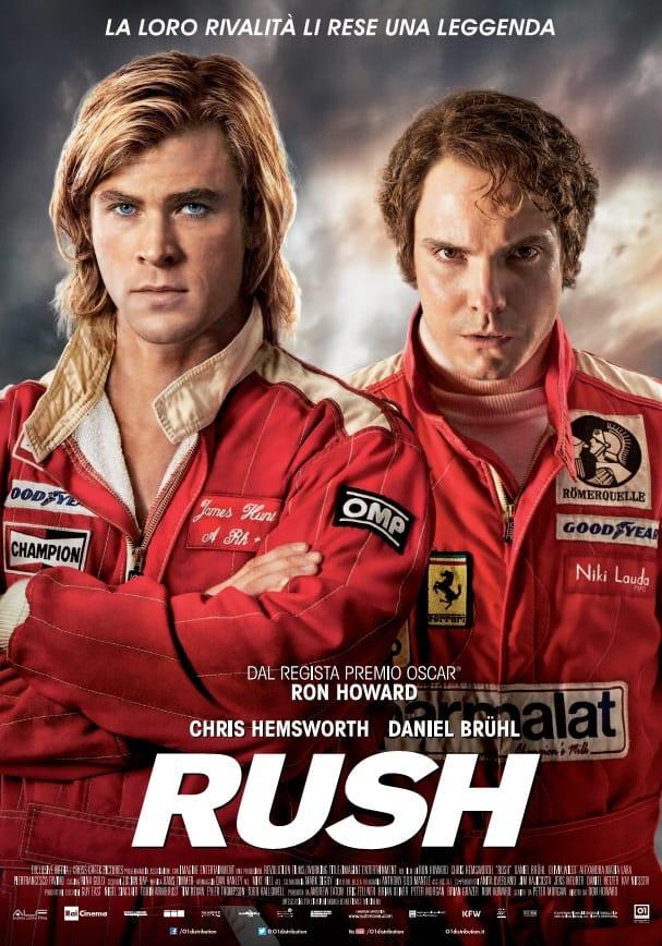 Il poster definitivo di Rush