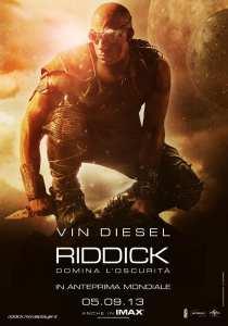 Riddick - La locandina