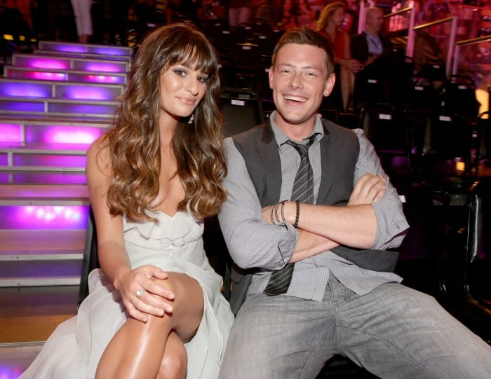 Lea Michele e Cory Monteith | © Christopher Polk / Getty Images
