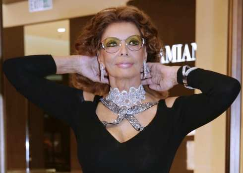 Sophia Loren   ©  Jessica Hromas / Getty Images