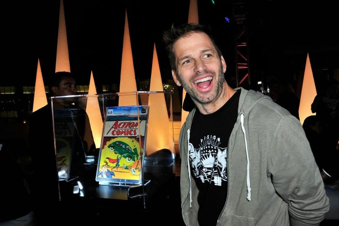 Zack Snyder al Comic-con di San Diego | © Jerod Harris / Getty Images